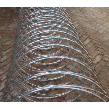 Galvanized Anti Rust Razor Barbed Wire