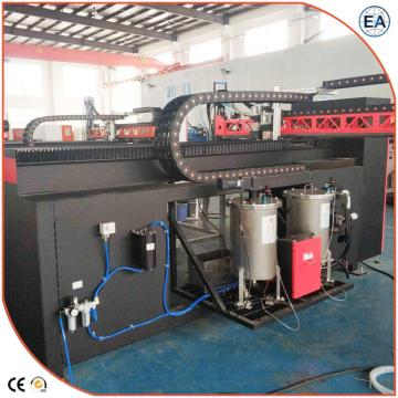 PU Glue Casting Machine On Air Filter Seal