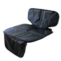 Black Super Mat Seat Protector with Organizer