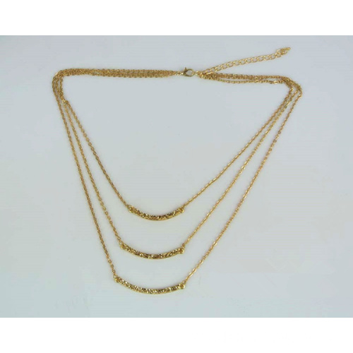 Three Layers Necklace Multi-Layer Chain Jewelry Wholesale