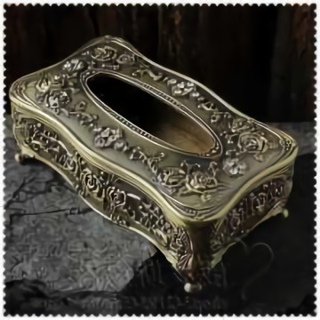 Light Extravagance Retro Wooden Tissue Box