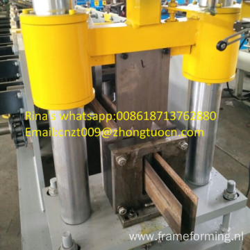 shutter door u guide machine u guide roll forming machine