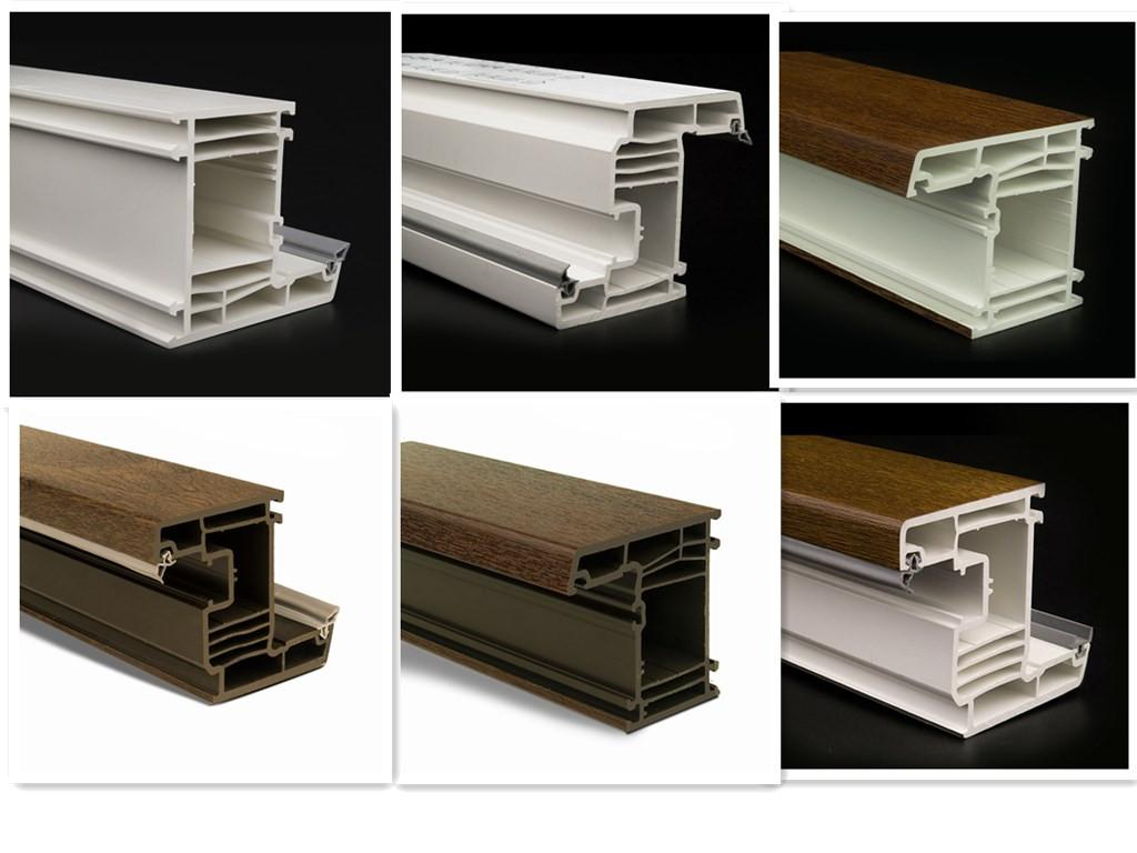 pvc profiles lminated