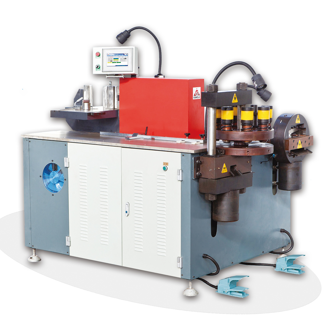 Busbar Turret Punching Bending Cutting Machine