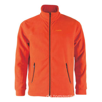 Mode orange Fleecejacke