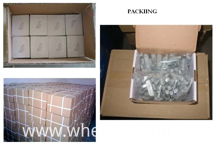Zn Clip On Weight Packing