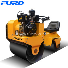 China New Product for 800Kg Road Roller 6HP Vibratory Steel Drum Roller export to Tonga Factories