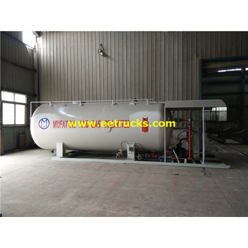 10 Tons Mobile Skid Cooking Gas Plants