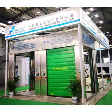 Industrial Internal Cold Storage Rapid Freezer PVC Door