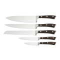 Stainless blade set with pakka wood handle
