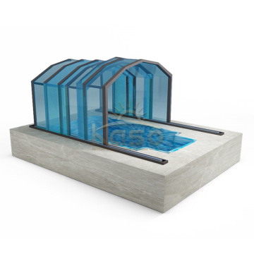 Polycarbonate Swimming Enclosure Aluminum Diy Pool Cover