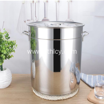 Stainless Steel Soup Bucket Thickened Deep Soup Pot