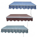 3M Manual Retractable Sun Shade Patio Awning