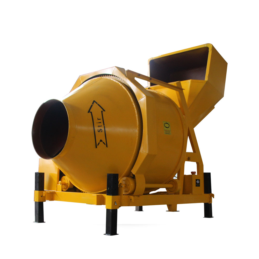 350L portable diesel concrete mixer