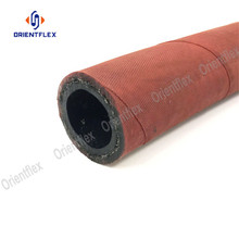 Europe style for Red Steam Hose,Steam Hose Pipe,Rubber Steam Pipe Manufacturers and Suppliers in China EPDM high temperature high pressure steam rubber hose supply to Italy Importers