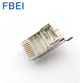 Cat5e 8P8C STP connector RJ45 Modular Plug