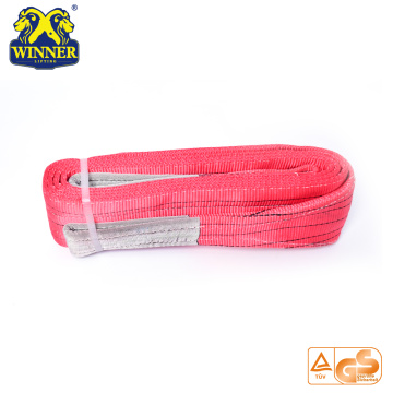 High Quality 1-12T Eye And Eye Lifting Polyester Webbing Slings