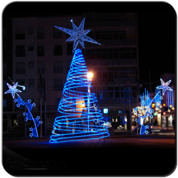 led tree lights Árvores de Natal artificiais gigantes