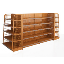 Big Discount for Metal Rack Convenience Store Backplane Shelving Units export to Poland Wholesale