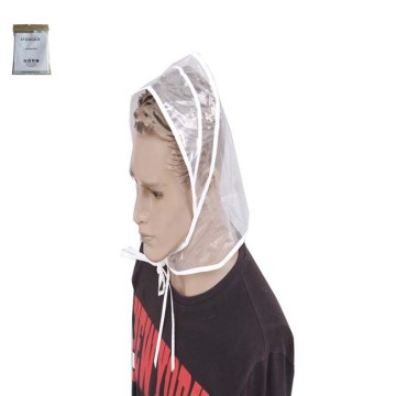100% waterproof  adult PE disposable rain bonnet