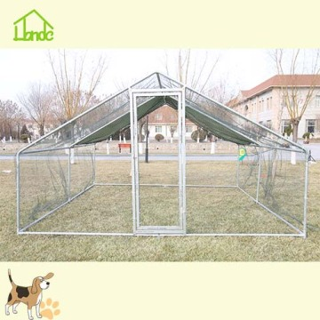 Large Galvanized Chicken Coop Exercise Run Cage