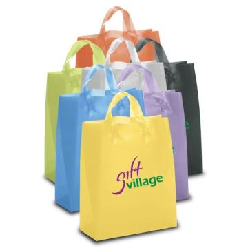 Custom plastic gift bag