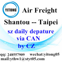 Shantou Air Freight Logistics Agent to Taipei