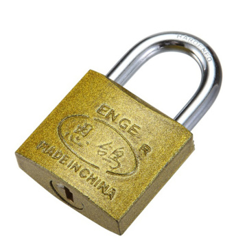 Industry Spray-painting Brass Padlock