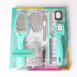 Hot sale reasonable price for Wooden Foot File Professional Pedicure Tool Kit supply to Indonesia Factories