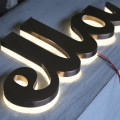 Large Light Up Letters for Sale Wholesale Stainless steel backlit letter