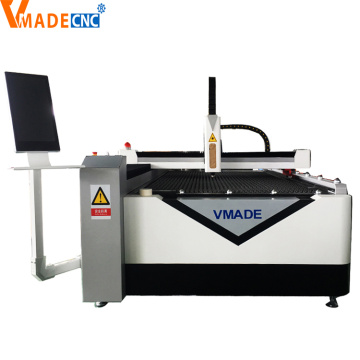 Fiber laser cutter for metal