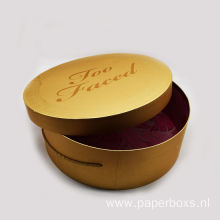 New Design Round Cosmetic Pacakging Paper Box
