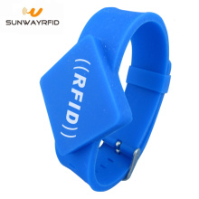 Good quality 100% for Adjustable Silicone RFID Wristbands Ultralight C Silicone chip Wristband RFID Bracelet export to British Indian Ocean Territory Factories