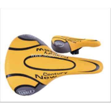 Touring Colorful Bicycle Saddle