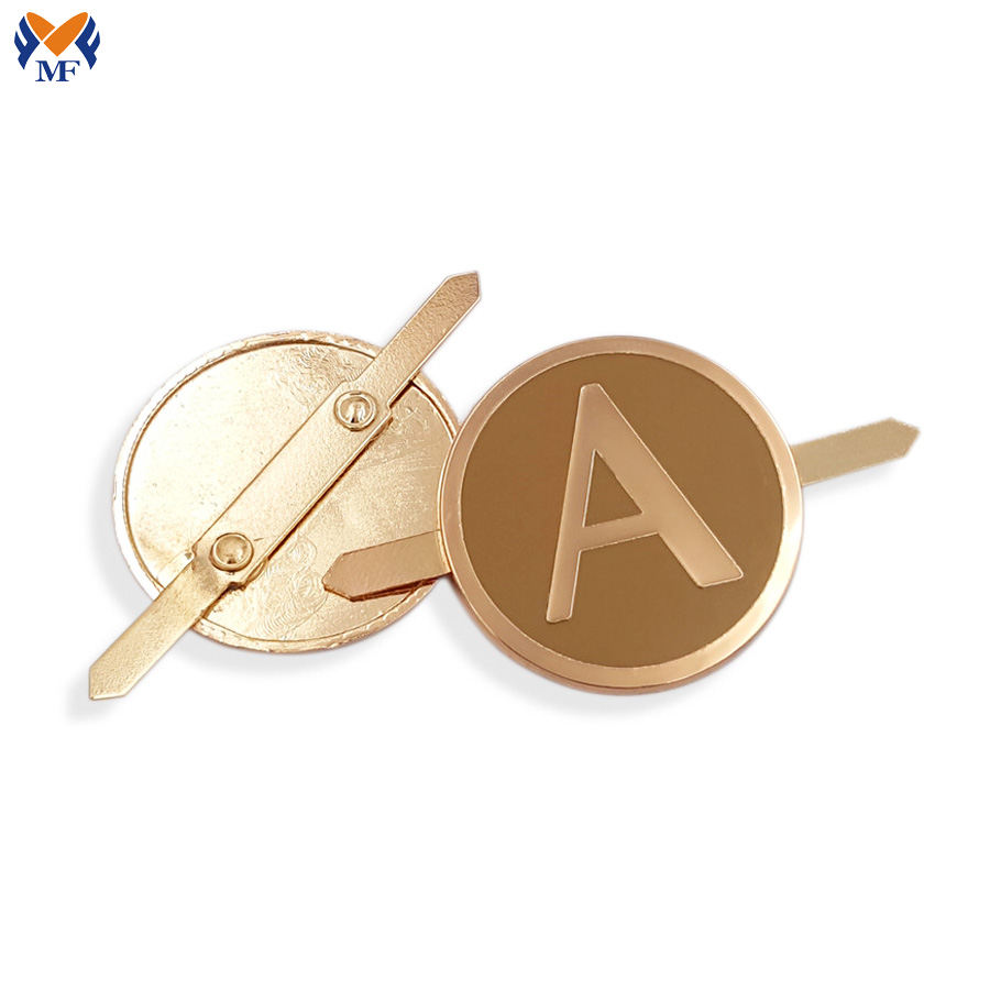 Metal Logo For Handbags