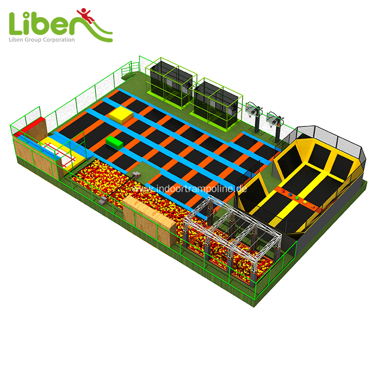 Provide experienced indoor trampoline park installer