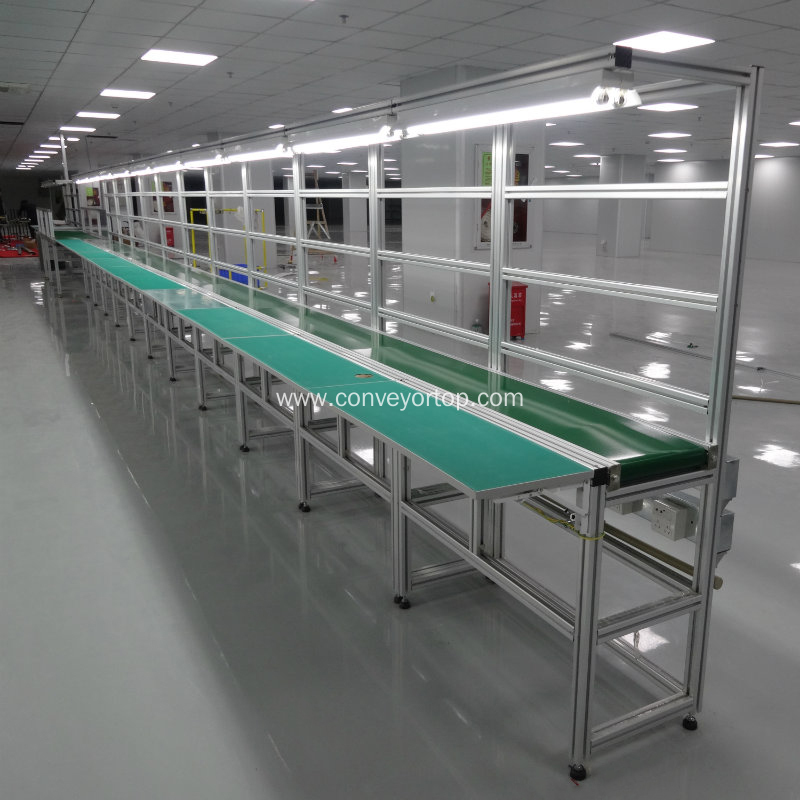 Industrial Adjustable Belt Conveyor Assembly Line