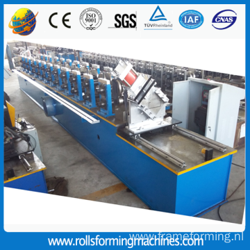 Hydraulic cutting steel profile channel machine