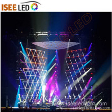 Programmable DMX RGB digital tube facade outdoor