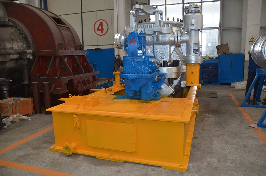 Injection condensing steam turbine (1)