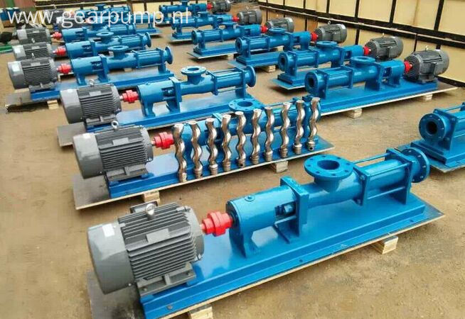 G series electric screw pump price / sewage pumps