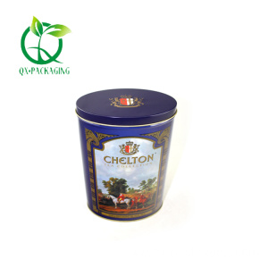 Oval Tin candy containers wholesale