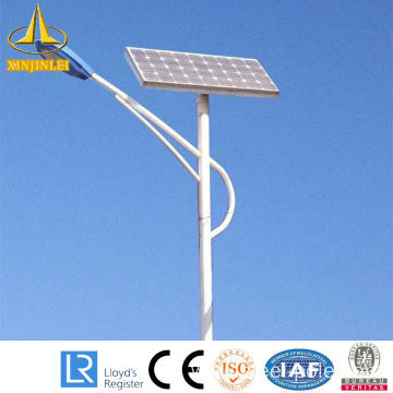 15M galvanzed solar street lighting pole