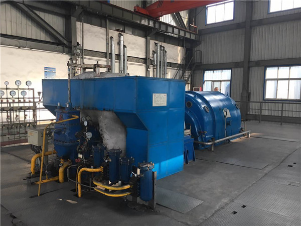15MW steam turbine power plant