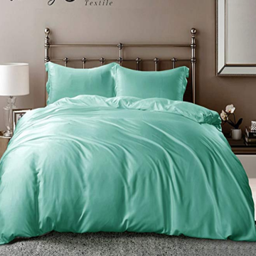 Wholesale Price for Dyed Jacquard Duvet Covers Silky Bamboo Derived Rayon Duvet Covers supply to Germany Manufacturer