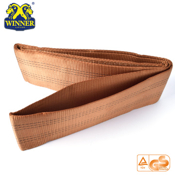 Wholesale Polyester High Tenacity Flat Webbing Sling Lifting