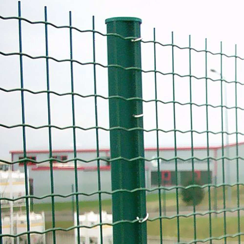 Green Plastic Euro Welded Wire Mesh Fence China Manufacturer