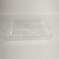 Apex clear acrylic cosmetic display trays