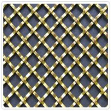 Galvanized Plain Weave Wrapped Edge Wire Mesh