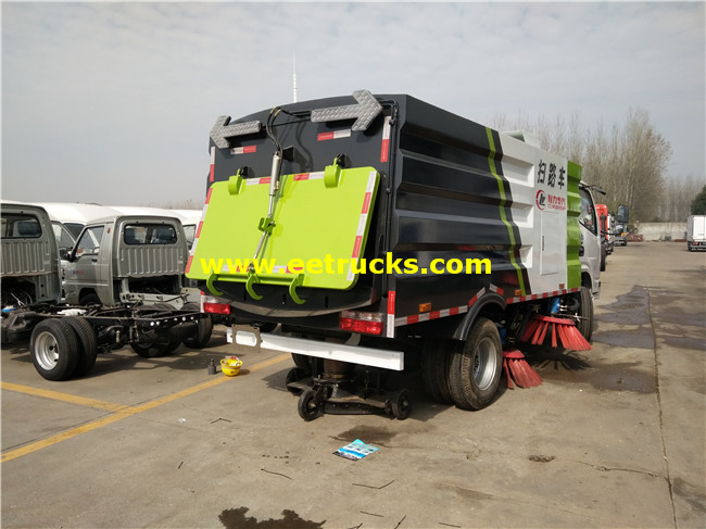 6ton Vacuum Sweeper Vehicles